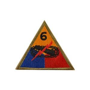 "Nášivka US ""6TH ARMY DIV."