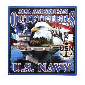 Ceduľa U.S. NAVY ALL AMERICAN OUTFITTERS