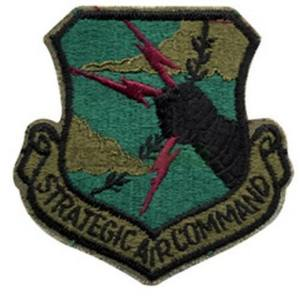 Nášivka STRATEGIC AIR COMMAND