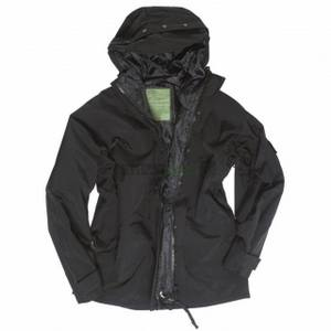 Parka US MT-plus trilaminát BLACK