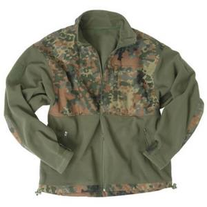 Bunda FLEECE rip-stop PATCH FLECKTARN