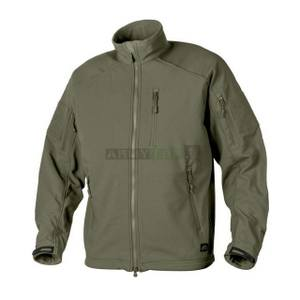 Bunda softshell DELTA TACTICAL ZELENÁ