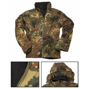 Bunda softshell SCU FLECKTARN