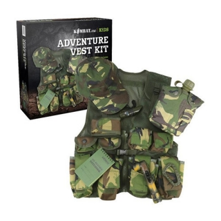 Detský Set JUNIOR  ADVENTURE VEST KIT DPM