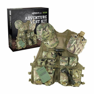 Detský Set JUNIOR  ADVENTURE VEST KIT COMMAND BTP