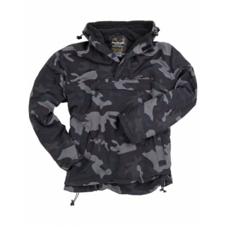 Bunda WINDBREAKER BLACK CAMO
