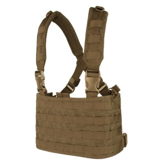 Vesta taktická MOLLE CHEST RIGG OPS COYOTE BROWN