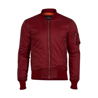 Bunda BOMBER MA1 basic BORDEAUX