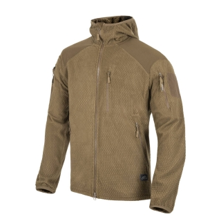 Mikina ALPHA GRID FLEECE COYOTE