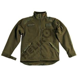 Bunda INFANTRY fleece OLIV/WOODLAND POĹSKÝ