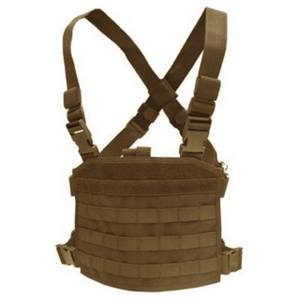 Vesta taktická MOLLE CHEST RIGG PANEL TAN