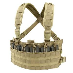 Vesta taktická RAPID ASSAULT CHEST RIG TAN
