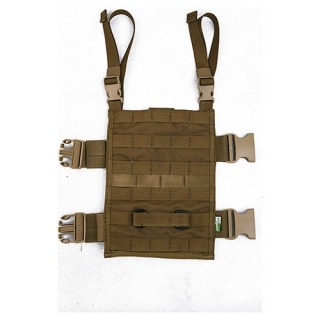 Panel MOLLE MFR stehenný obdĺžnikový COYOTE BROWN