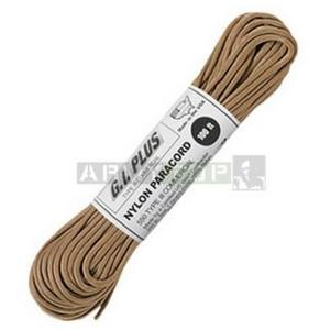 Šnúra PARACORD nylon 550LB 30m 4mm TAN